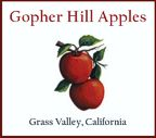 Gopher Hill Heirloom Apples is an Holistic Apple Orchard on the West Coast